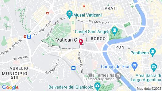Residenza Paolo VI Map