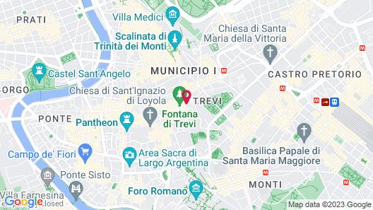 Trevi Beau Boutique Hotel Map