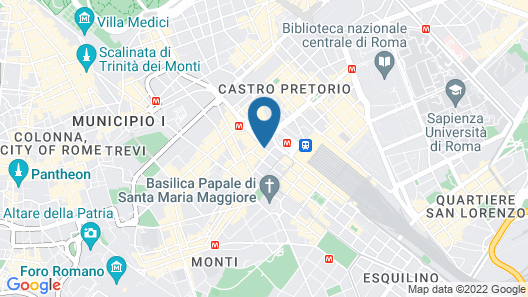 Hotel Nord Nuova Roma Map