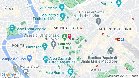 Relais Trevi 95 Boutique Hotel Map