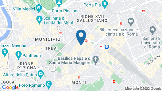 La Griffe Roma MGallery Collection Map