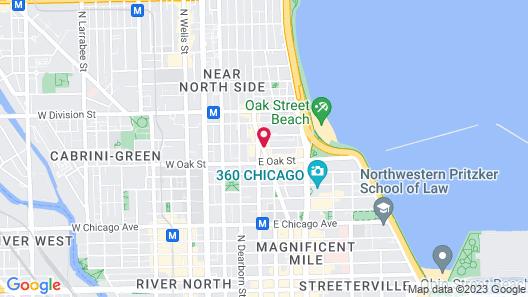 Thompson Chicago Map