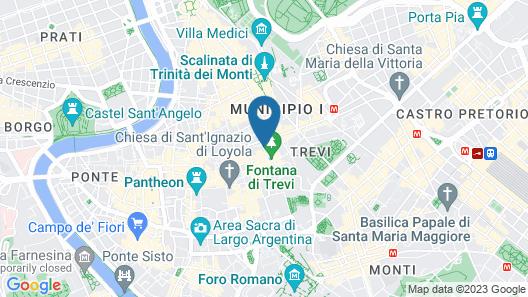 Hotel Delle Nazioni Map