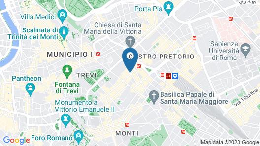 Relais Servio Tullio Map