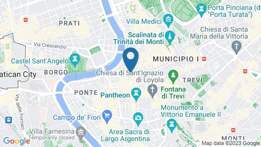 Hotel Adriano Map