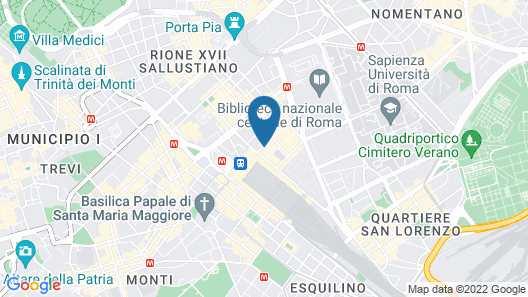 Hotel Rimini Map