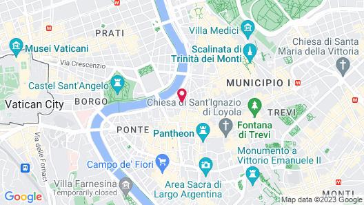 Hotel Due Torri Map