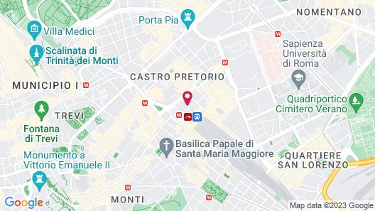NH Collection Roma Palazzo Cinquecento Map