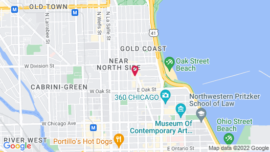 Viceroy Chicago Map