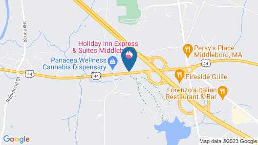 Holiday Inn Express Hotel & Suites Middleboro Raynham, an IHG Hotel Map