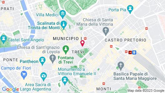 Hotel Julia Map