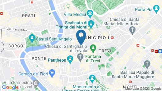 Parlamento Boutique Hotel Map
