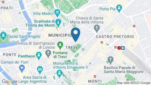 Mood Suites Tritone Map