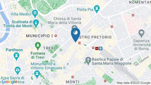 Hotel Patria Map