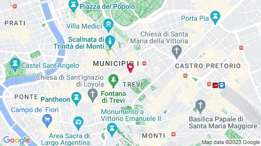 Hotel Memphis Map