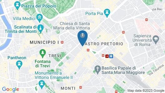 The RomeHello - Hostel Map