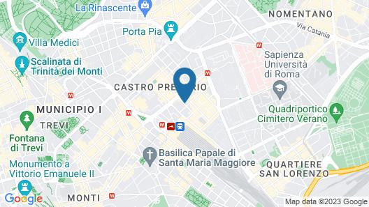Hotel Milani Map