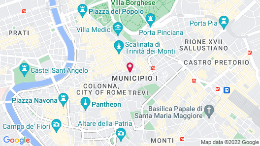 Spagna Ave Map