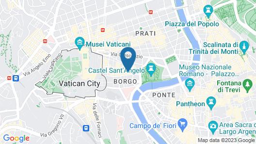 Hotel della Conciliazione Map