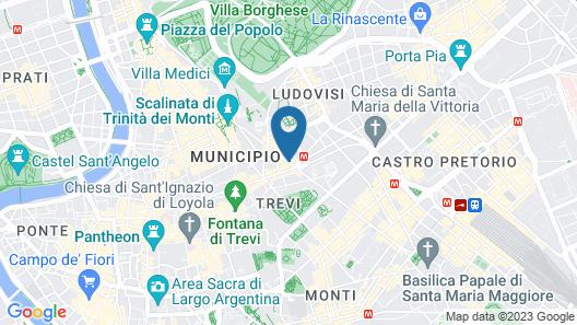Hotel Sistina Map
