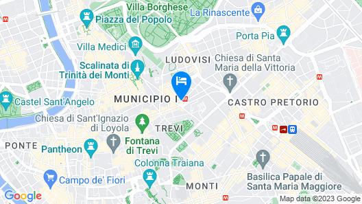 Hotel Barocco Map