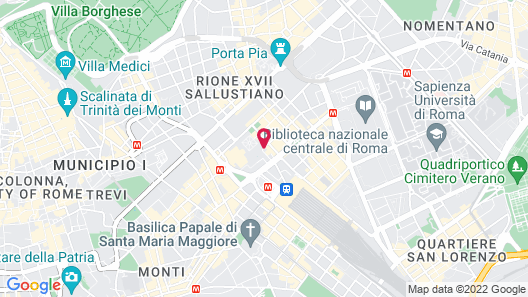 Hotel Diocleziano Map