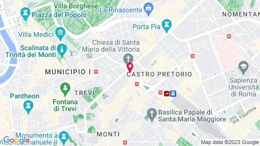 Mascagni Hotel Map