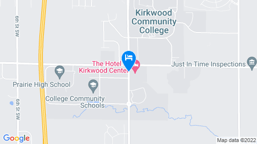 The Hotel at Kirkwood Center Map
