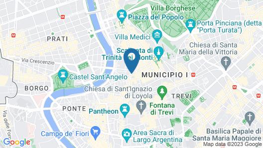Fendi Private Suites Map