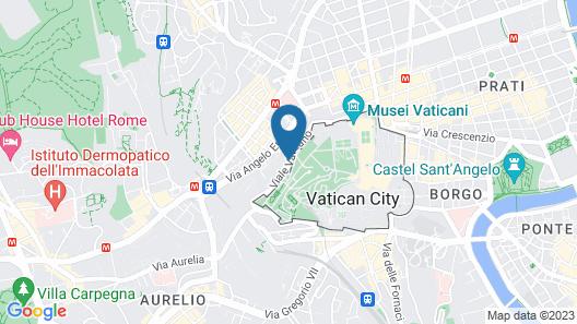 Domus Getsemani Map