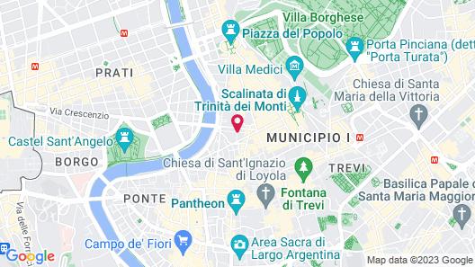 J.K. Place Roma Map