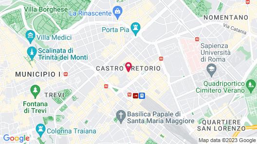Palazzo Montemartini Rome, A Radisson Collection Hotel Map