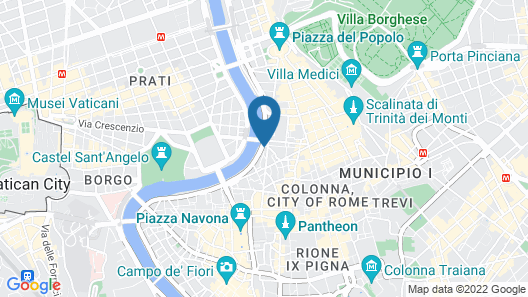Fontana Più Stella Map