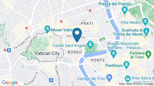 Hotel Adriatic Map