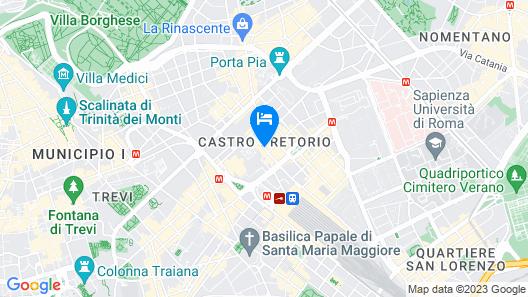 Raeli Hotel Regio Map