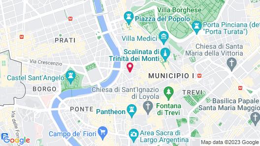 Hotel Vilòn Map