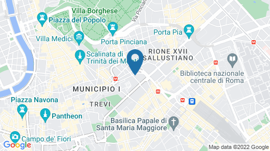 Concept Terrace Hotel Map