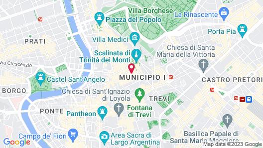 Spagna Royal Suite Map