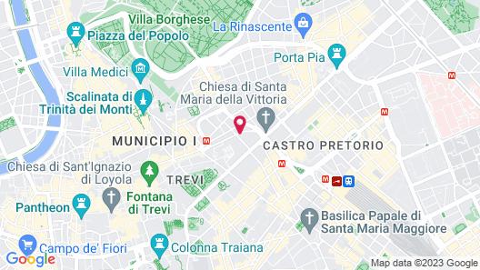 Triviho Hotel Map