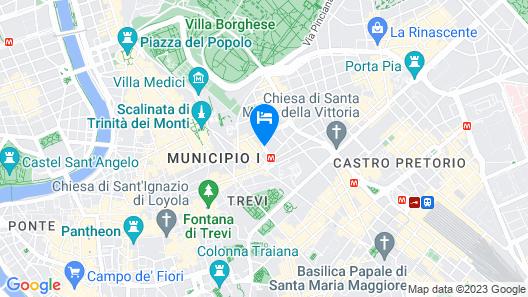 Casa I Cappuccini Map