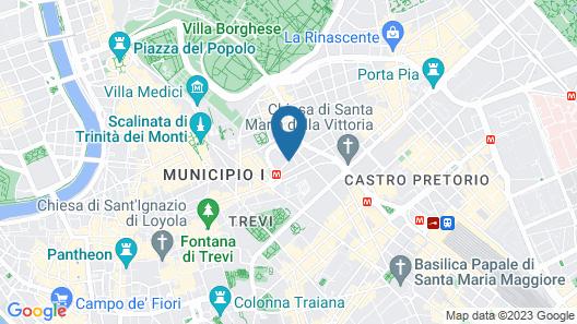 Basilio 55 Rome Map