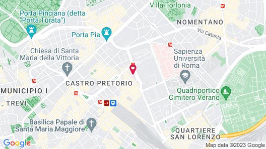 Hotel Villafranca Map