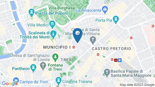 Hotel 53 Cinquantatre Map