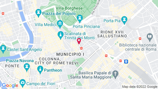 Hotel Imperiale Map