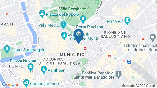 Hotel Modigliani Map