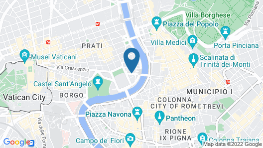 Hotel Diplomatic Map