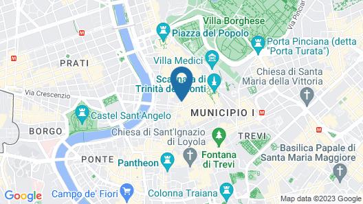 Grand Hotel Plaza Map