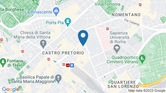Carlito Budget Rooms Map