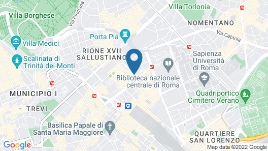 Hotel Andreotti Map