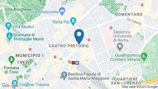 Hotel Alpi Map
